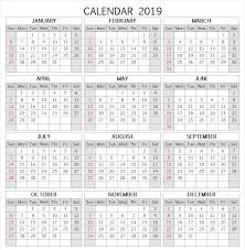 School Calendar Templates 2019 School Calendar Template Major Magdalene Project Org