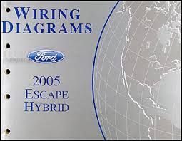wiring diagram ford escape wiring image 2005 ford escape hybrid wiring diagram manual original on wiring diagram ford escape 2005