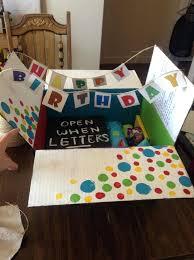 best friend gift ideas open when letters for my best friends birthday its a great gift best friend gift ideas