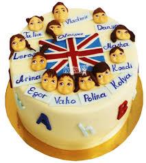 Торты на выпускной на заказ в Москве низкая цена №5673 Торт учителю Английского