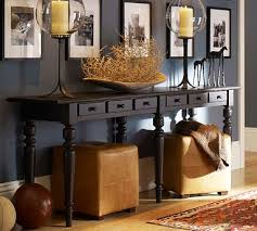 Modern Sofa Table Decor Pottery Barn Console O To Intended Creativity Ideas