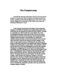 the tempest prospero character analysis how do his actions and   william shakespeare · the tempest page 1 zoom in