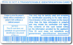 Personal By Identification Intenartional Cards Automobile Association