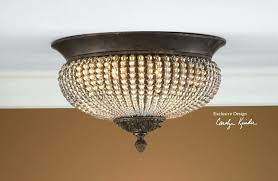 crystal flush mount chandelier beaded flush mount lighting ceiling within crystal flush mount ceiling light regarding household
