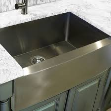 highpoint collection stainless steel silver 30 inch farmhouse a sink 304 stainless steel size over 22