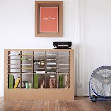 karton cardboard furniture. View In Gallery Cardboard Shelving Karton Furniture O