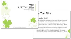 Clover-Nature Powerpoint Templates