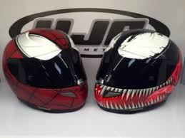have you seen these hjc superhero helmets yet