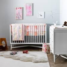 Dwell baby furniture Posey Bambi Baby Dwellstudio Mid Century Crib In French White