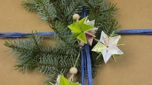 Sterne Basteln Christbaumschmuck Geschenkanhänger Für Weihnachten Selber Machen