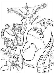 Kleurplaten En Zo Kleurplaat Van Kung Fu Panda 2