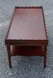 mahogany coffee table. Vintage Mid Century Mahogany Coffee Table :