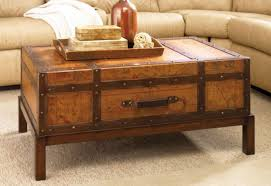 room vintage chest coffee table:  rustic trunk coffee table with drawers photos