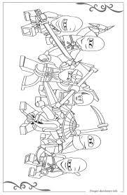 Lego Ninjago Disegni Per Bambini Da Stampare E Colorare Jaitak