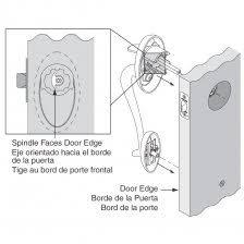 Image Kwikset Door Lock Parts O Kwikset Door Knob Parts 1