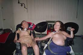 Midget couple having sex