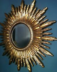 gold starburst wall decor antique gold sunburst mirror from wall decor
