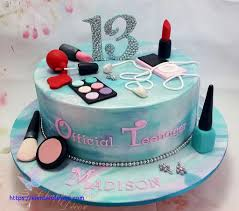 age birthday cake 13th makeup ipod by chappcakes decor