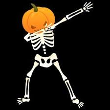 dabb dance. skeleton pumpkin | dab dance halloween design dabb