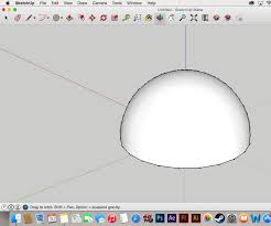 So its kinda like a two in one tutorial. How To Create A Dome In Sketchup 8 Steps Instructables