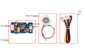 transducer interface connect ultrasonic transducer to with driver board grove wire connect main control board with driver board