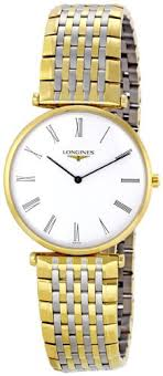 longines watch shops online page 4 longines l47092117 la grand classic in steel and 18k gold ultra thin men s watch