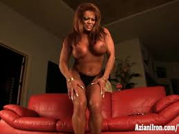 Huge clit bodybuilder asian