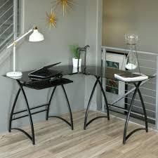 home office l desk. black glass top computer desk intended for l u2013 large home office furniture