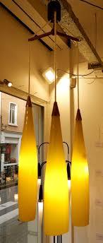 long murano glass pendant light by gino