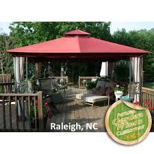 sears monaco gazebo replacement canopy by sears garden oasis monaco gazebo replacement canopy