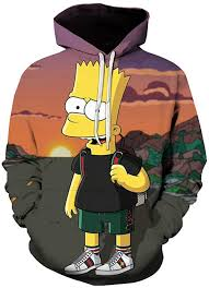 2020 Simpson Printed <b>Men Women 3D Hoodies</b> Sweatshirts Quality ...