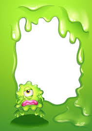 A Green Monster In A Green Border Design Download Free