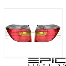 Toyota Highlander Parking Lights Details About Fits 08 10 Toyota Highlander Tail Light Lamp Pair Left And Right Set