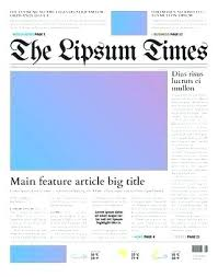 School Newspaper Template Publisher School Newspaper Template Publisher Heymedia Co