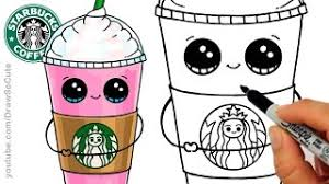 How To Draw A Starbucks Unicorn Frappuccino скачать видео