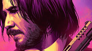 John Wick 3 Keanu Reeves Art 4K ...