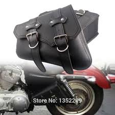 Motorcycle Luggage Rack Bag Unique New Motorcycle PU Leather Luggage Rack Tool Side Saddle Bag For