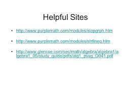 25 helpful sites purplemath com modules slopgrph htm