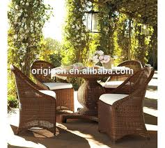 outdoor wicker dining furniture lemon grove custom stationary