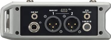"""zoom f4 multitrack field recorder zoom in addition to the 1 4"""" headphone jack dedicated volume control the f4 provides four other outputs two main outs on balanced xlr jacks let you"""