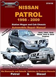Nissan Patrol 1998 to 2009 Vehicle Repair Manual: Max Ellery ...