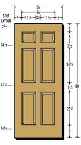 Standard Door Width Inches Flawless Standard Bedroom Door Size Door Width  Dimensions Standard Door Width Inches Interior Size Standard Door  Measurements In ...