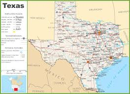 texas state maps  usa  maps of texas (tx)