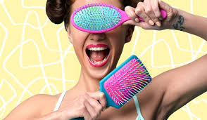 how to clean hairbrush be beautiful india