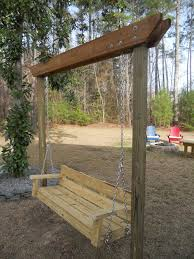 Fire Pit Swing 22 Diy Garden Swings You Can Bring To Life Almost Effortlessly
