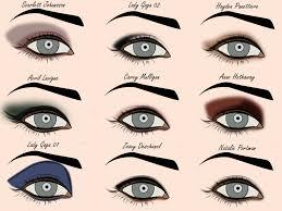 eye shadow styles template free