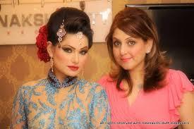 meenakshi dutt bridal makeup for blue dress