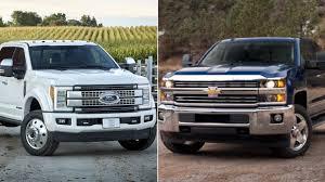 2017 Ford Super Duty vs Silverado Duramax 2500 / 3500 - YouTube