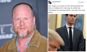 On wednesday, actor ray fisher fired off a tweet accusing producer joss whedon of gross, abusive, unprofessional. Joss Whedon Is Slammed For Calling Ivanka Trump A Dog Daily Mail Online