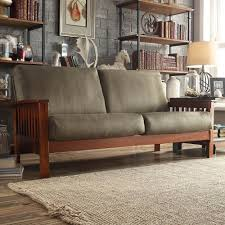 Hills-Mission-style-Oak-Sofa-by-iNSPIRE-Q-